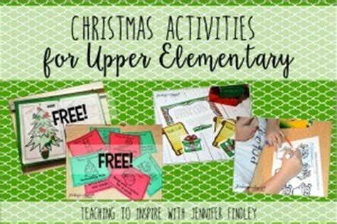 printable christmas activities for upper primary thanksgiving activities for upper elementary teaching to