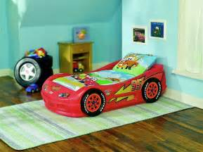 Lighting Mcqueen Toddler Car Bed Car Bed For Boys