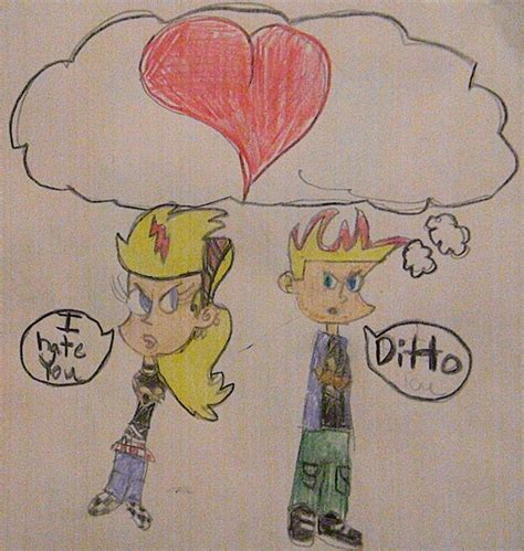 sissy test johnny test johnny and sissy by littelpan on deviantart