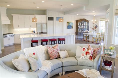Sofa In The Kitchen by How To Find The Place For Your Curved Sofa Or