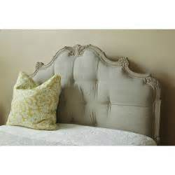 Wood And Upholstered Headboard Florentine Palace Upholstered Headboard With Carved Wooden Frame