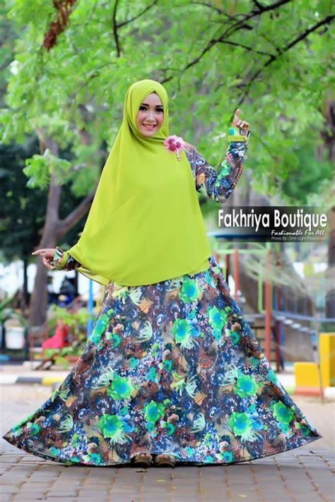 Golden By Efandoank 1 alaika hijau baju muslim gamis modern