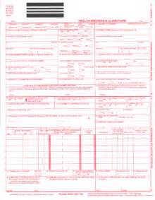 cms 1500 template sle cms 1500 claim form pictures to pin on