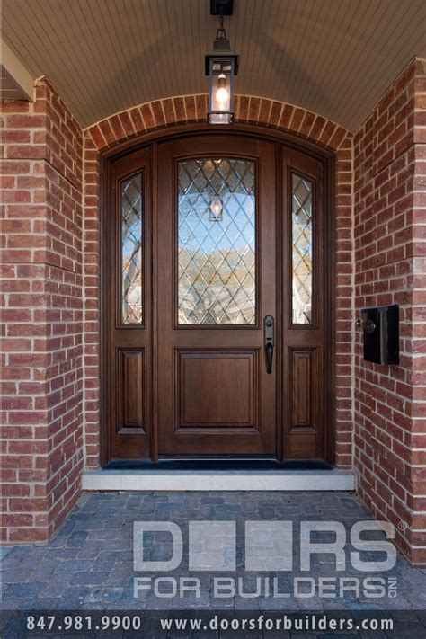 wood front entry door solid wood entry door privacy glass wood front