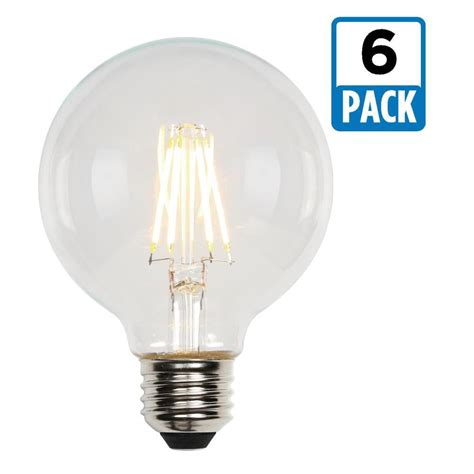 Westinghouse 60w Equivalent Soft White G25 Dimmable Led Light Bulb Pack