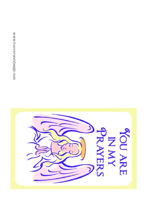Blessing Card Template by Top 27 Prayer Card Templates Free To In Pdf Format