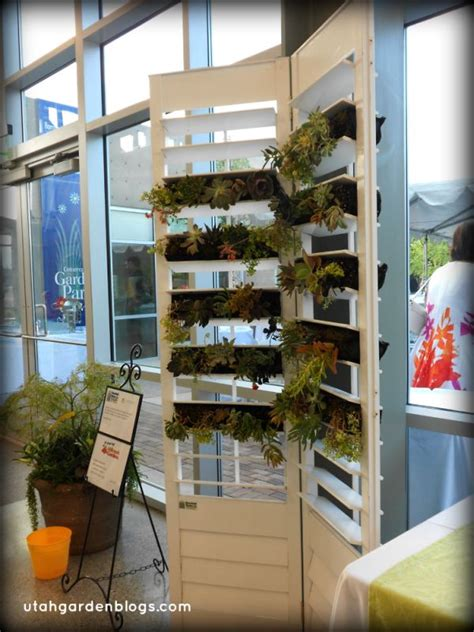 Shutter Planter by Save Space In Your Home Or Garden By Creating Vertical