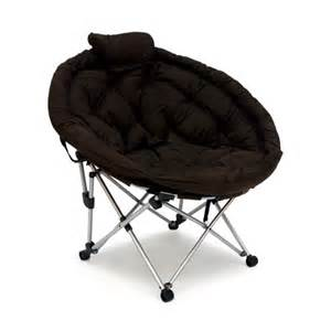 folding moon chair large folding moon chair mahogany mac sports