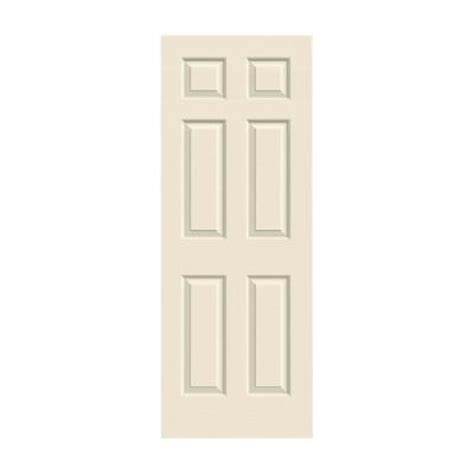 34 Interior Door Jeld Wen 34 In X 80 In Woodgrain 6 Panel Primed Molded Interior Door Slab Thdjw136500713 The