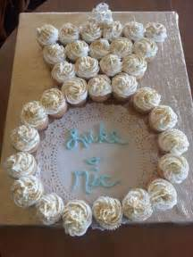 bridal shower cupcake supplies cupcakes in the shape of an engagement ring