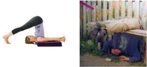 Drunk Yoga Meme - intoxicated exercising drunken yoga