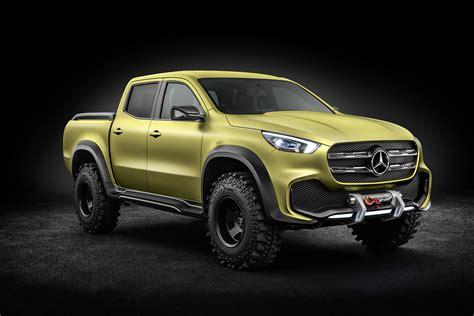 Mercedes Trucks by Mercedes X Class Concept Truck Hiconsumption