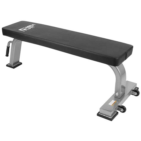 commercial flat bench mirafit semi commercial flat gym bench weight dumbbell db