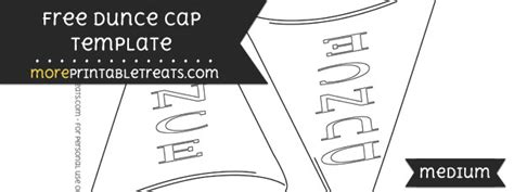 dunce hat template wonderful cap template images themes ideas