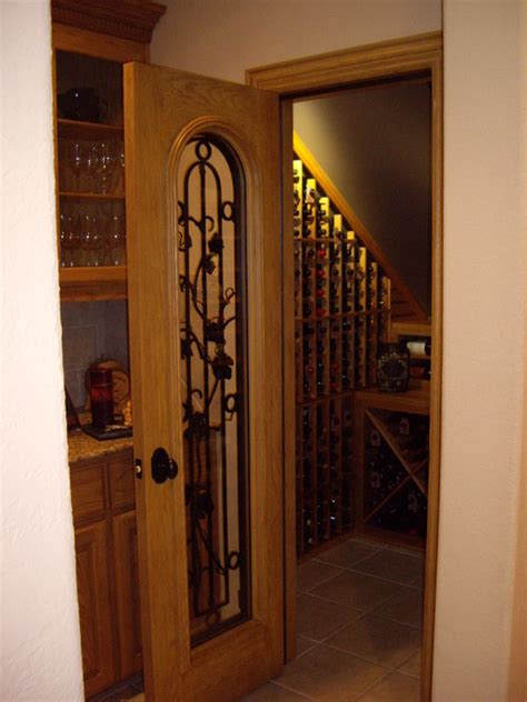 Closet Wine Cellars by Closet Custom Wine Cellar Entryway Traditional Wine
