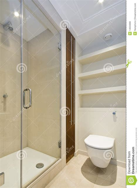 Small Bathroom Designs With Shower detail of a modern en suite shower room royalty free stock
