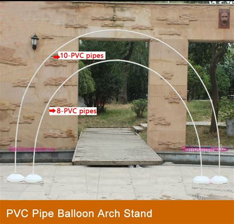 Wedding Arch Stand by Make A Balloon Arch Stand With Pvc Pipe Cords Pvc Pipe