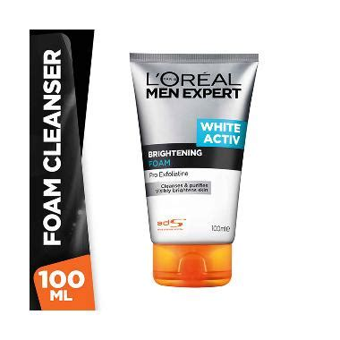 Harga Loreal Mens White Activ jual l oreal expert white active brightening