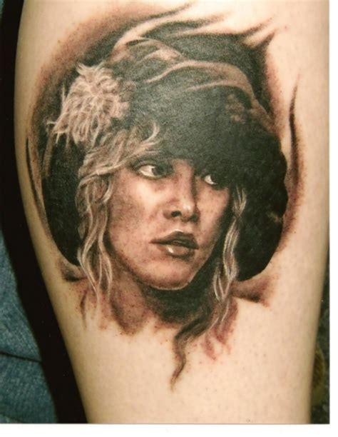 stevie nicks tattoo steve nicks portrait by optimuspint on deviantart
