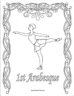 ballerina coloring pages first position arabesque ballet position coloring sheets coloring pages