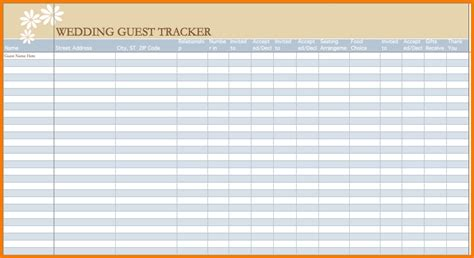 sle wedding guest list wedding guest list template free 28 images 6 best