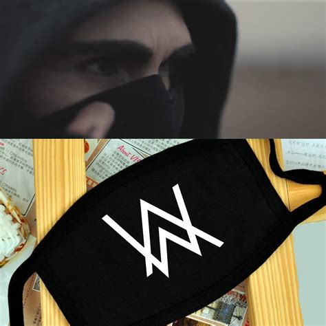 Alan Walker Mask | alan walker fade logo breathing mask anti dust mask