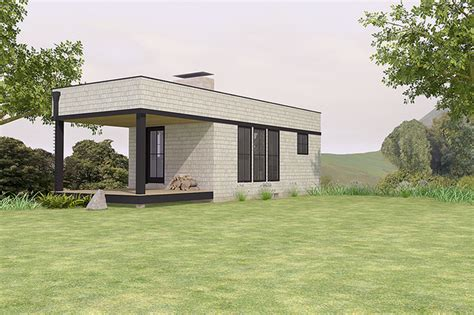 Small Home Designs With Photos Plano De Monoambiente Moderno De 28 M2 Planos De Casas