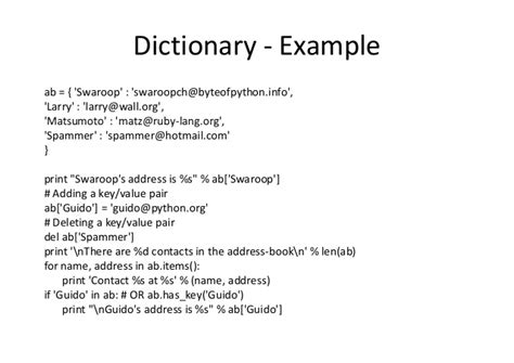 python lecture 3