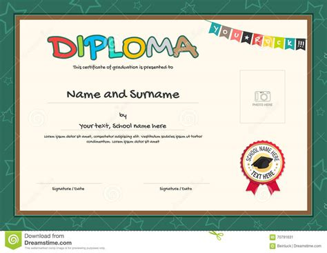 Download Diploma Certificate Template Images Certificate Design And Template Diploma Certificate Template