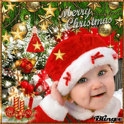 merry christmas baby picture  blingeecom