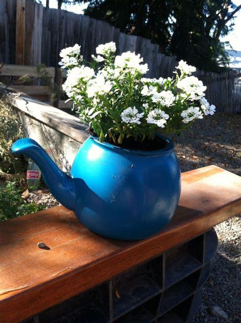 Garden Teapot Planter by 17 Best Images About Teacup Teapot Planters On