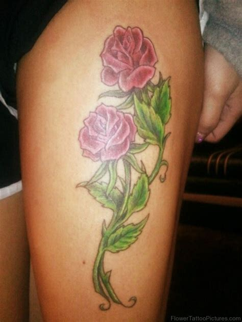 roses on thigh tattoo 68 phenomenal tattoos on thigh