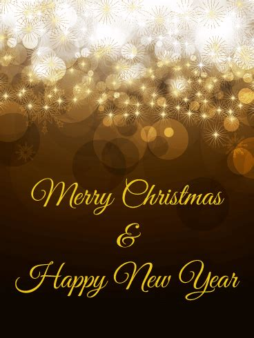 glossy merry christmas card birthday greeting cards  davia