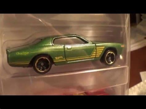 Hotwheels Wheels 74 Dodge Charger Hijau 74 dodge charger mania 5 pack wheels