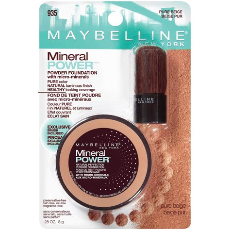 Maybelline New York White Fresh maybelline new york mineral power powder foundation beige bargainville makeup