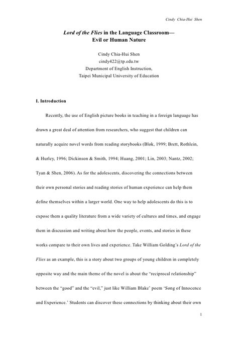 lord of the flies theme essay topics essay writing lord of the flies docoments ojazlink