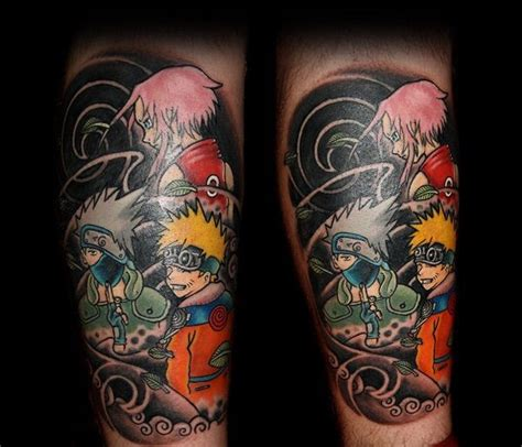 naruto tattoos anime amino