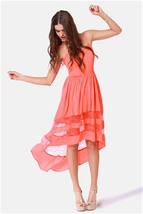 coral sundress dressedupgirlcom