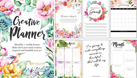 Galerry printable day planner