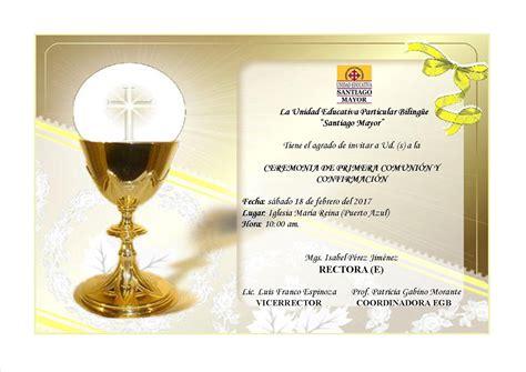 diploma de comunion para imprimir unidad educativa particular biling 252 e quot santiago mayor