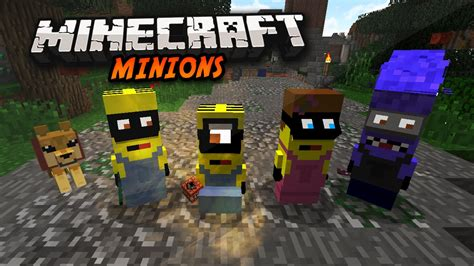 download mod game despicable me minecraft minions mod despicable me minions in