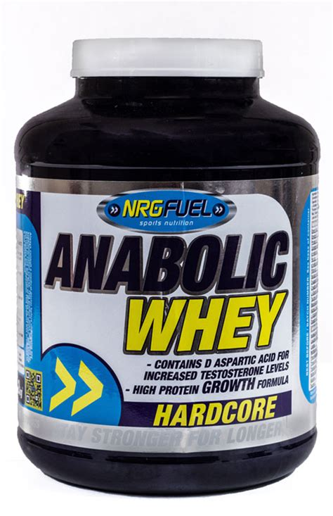 Whey Isobolic Nrgfuel Anabolic Whey Is A Low Carb Low High Protein