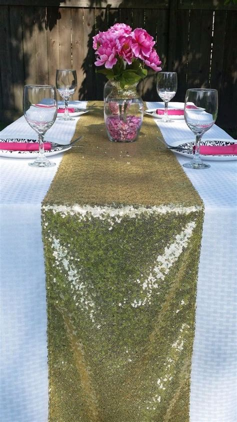 gold table runner cheap 5 pcs cheap shiny gold silver chagne