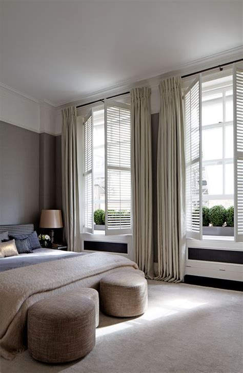 neutral bedroom curtains best ideas about bedroom shutters curtains shutters and