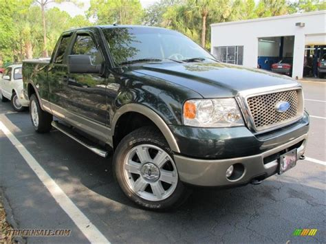 Ford F150 2006 by 2006 Ford F150 Lariat Supercab 4x4 In Aspen Green Metallic