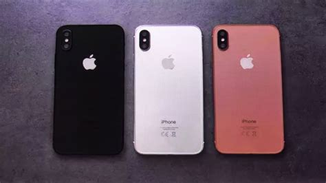iphone 8 iphone x preview and comparison