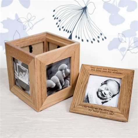 photo presents personalised photo cube photo keepsake box treat republic
