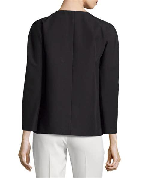 swing mac coat michael kors mac swing jacket black