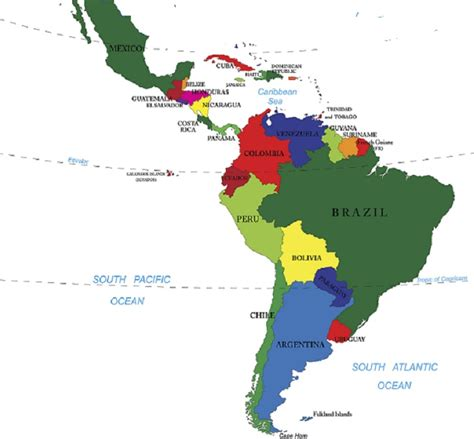 map of latin america latin america is made up of mexico latin america