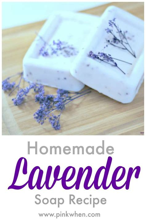 Recipe For Handmade Soap - easy lavender soap recipe ftempo